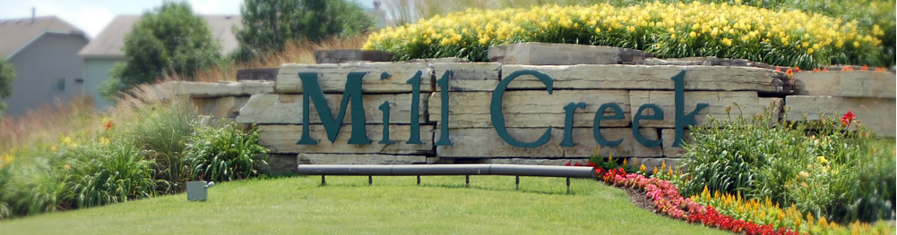 Mill Creek Signage